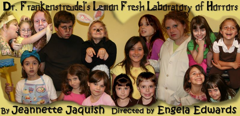 Dr. Frankenstreudel's Lemon Fresh Laboratory of Horrors' Cast