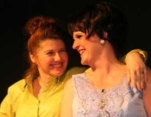 Engela and Terry Lyne as Louise and Patsy