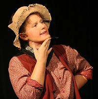 Engela as Sam in The Red Princess Goes West