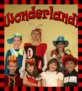 Wonderland Touring Cast